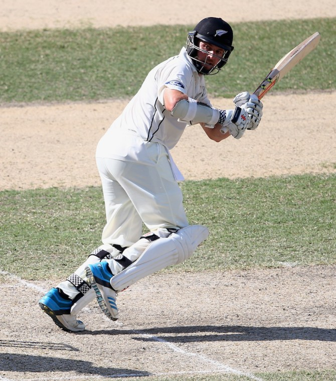 Craig hit five boundaries during his solid innings of 43