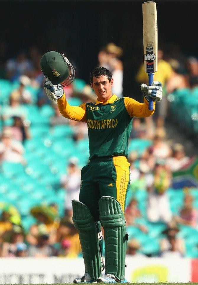 De Kock's sixth ODI century went in vain