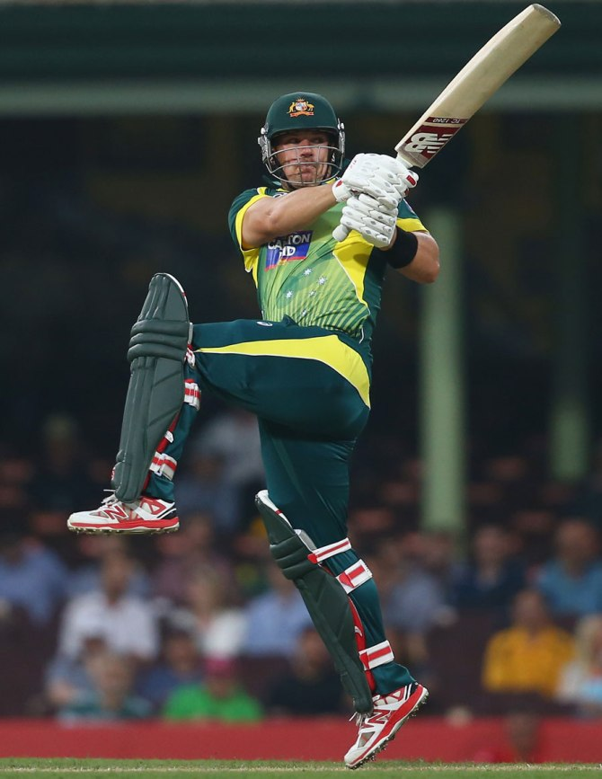 Finch made his 76 in almost no time at all