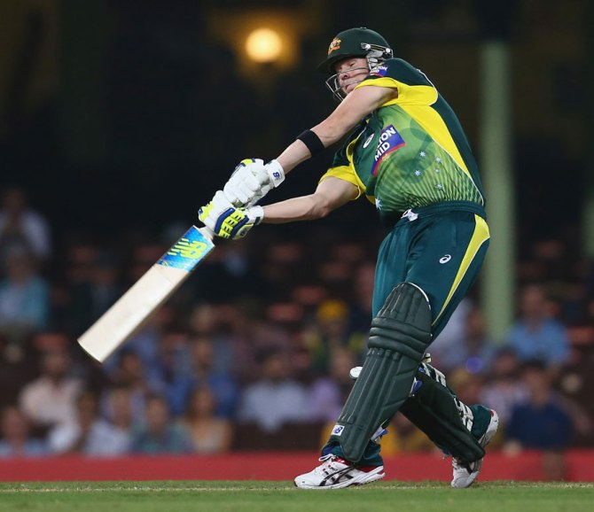 Smith's good form with the bat continued