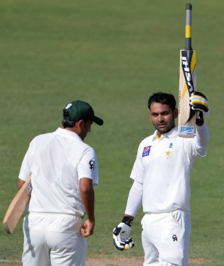 """""""Throughout his innings he was very composed and he rarely missed a bad ball"""""""