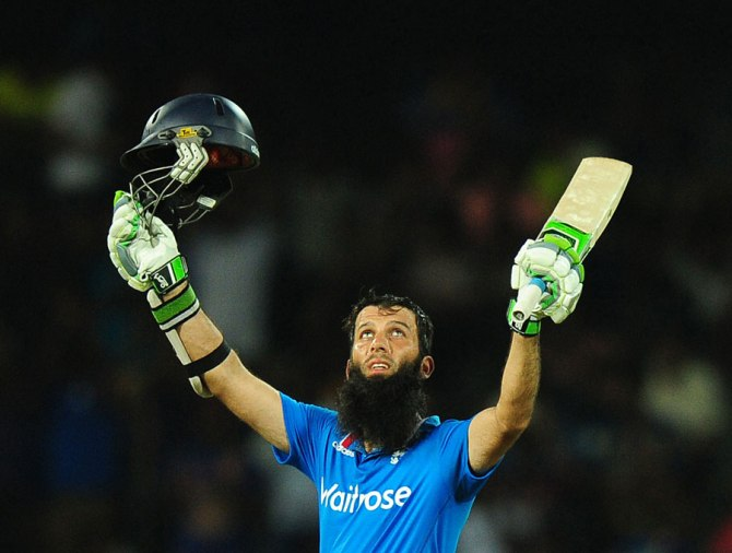 During his superb innings, Ali made the second-fastest half-century by an England batsman in ODI history.