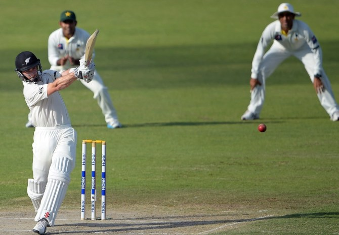 Williamson struck seven boundaries and a six during his unbeaten knock of 76
