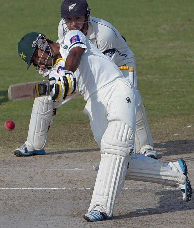 Shafiq's career-best knock of 137 went in vain