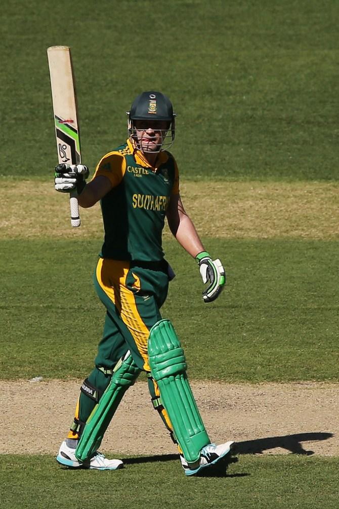 De Villiers' gutsy knock of 91 went in vain