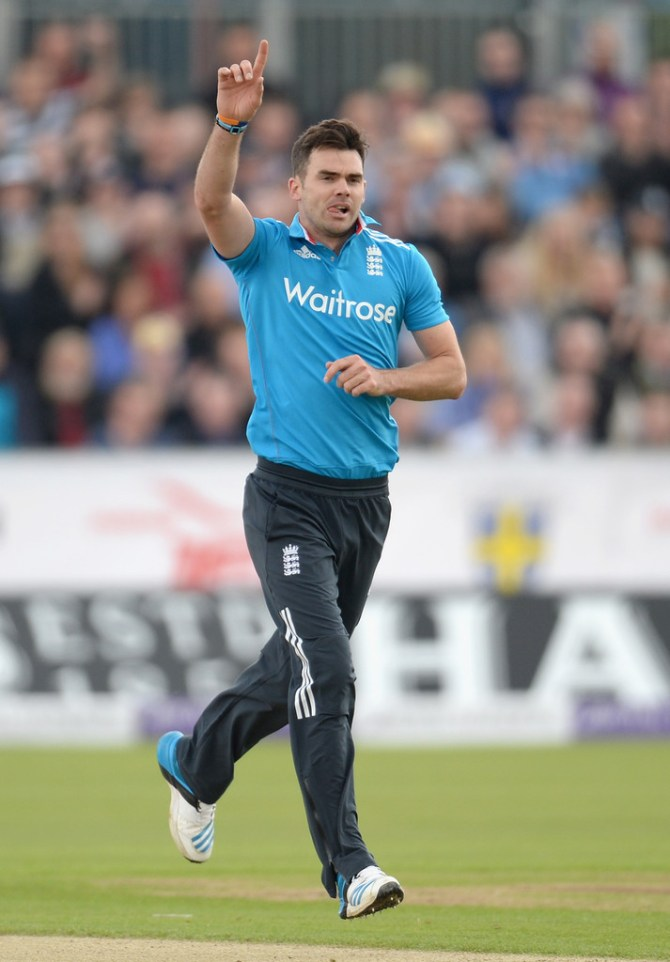 The ECB have decided not to call up a replacement for Anderson