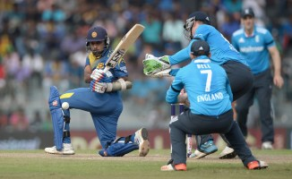 Jayawardene was named Man of the Match for his match-winning innings of 77