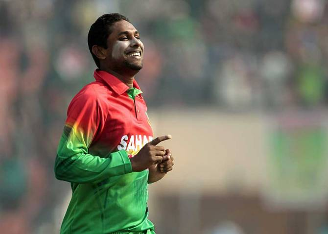 Gazi has not yet applied to get his bowling action re-tested