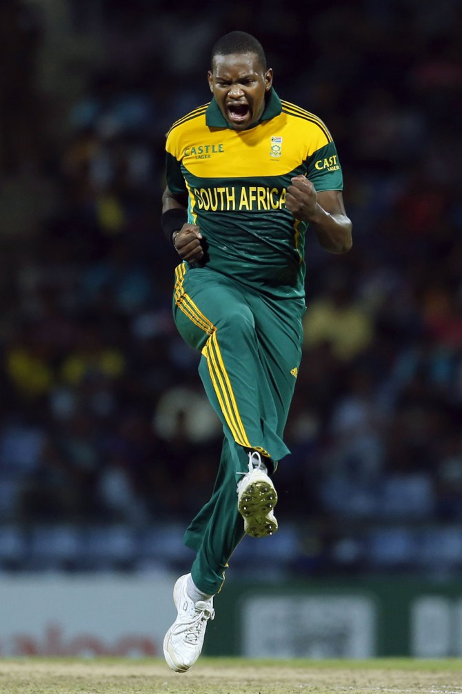 Tsotsobe's last ODI for South Africa came against India in December 2013