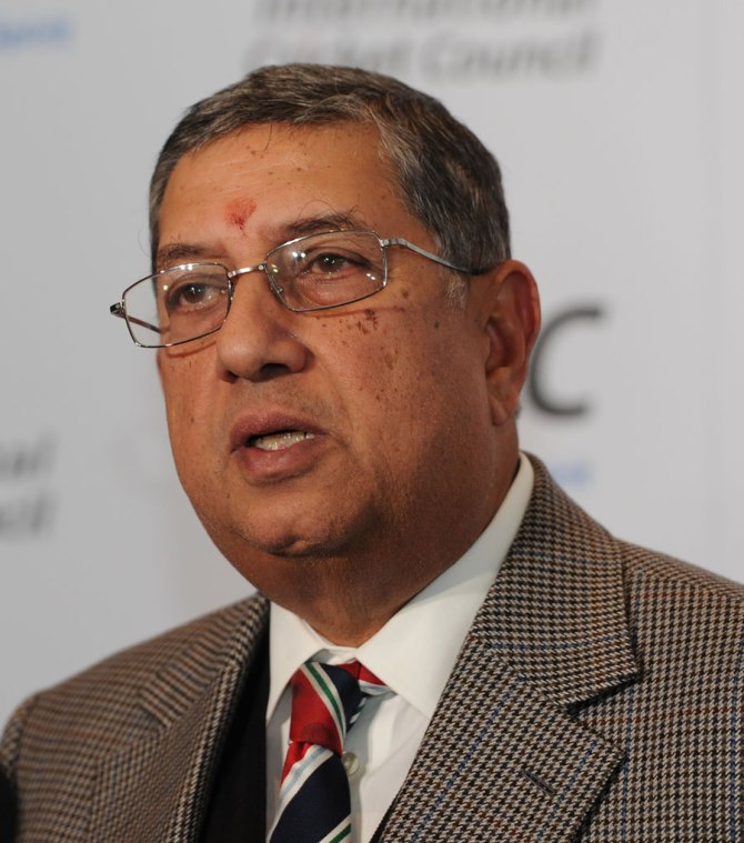 The BCCI are still waiting to see if the Supreme Court will take any action against Srinivasan