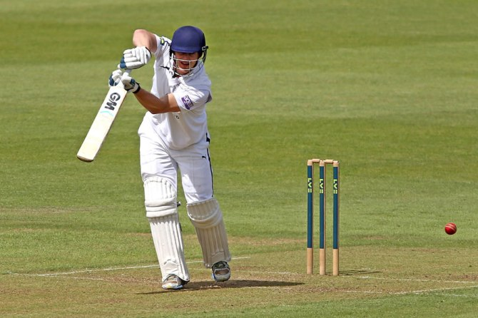 Captain Adams will be returning to Hampshire