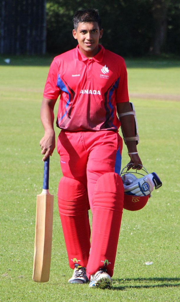 Dutta is one of 12 players from USA, Canada and Bermuda who have a chance to get a CPL contract