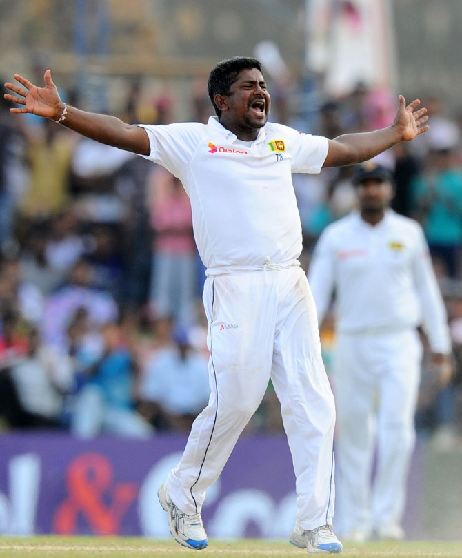 Herath has taken 60 wickets at an average of 27.45 in Test matches this year
