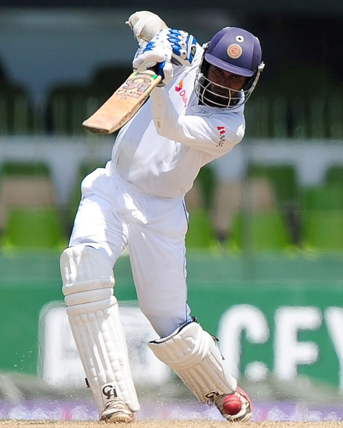 Tharanga averaged 42 with the bat against Pakistan in August