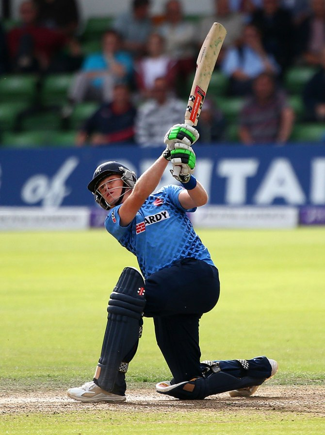 Billings averaged 81.66 in this season's Royal London One-Day Cup.