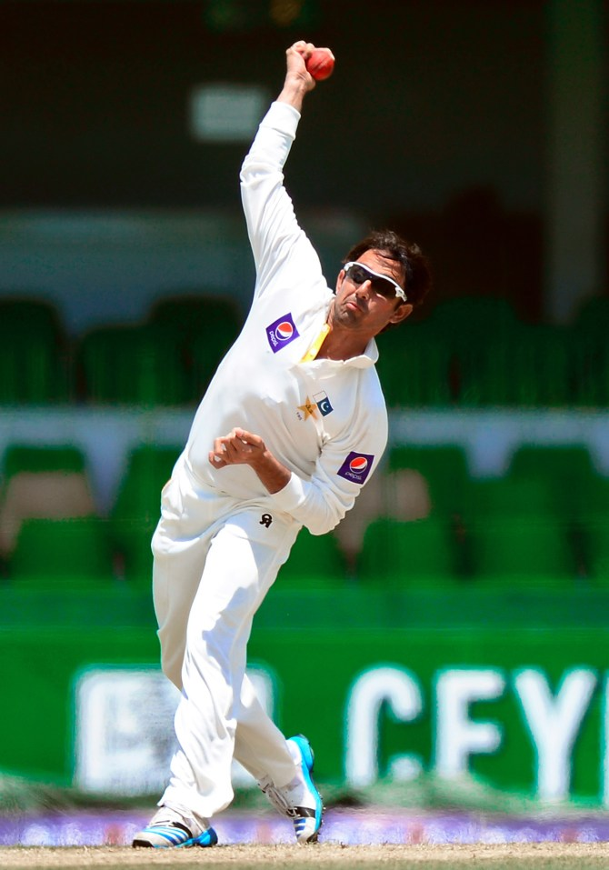 Ajmal has been banned from bowling since September