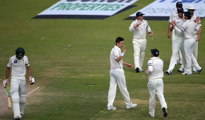 Masood was dismissed for 40 on the final day of the second Test