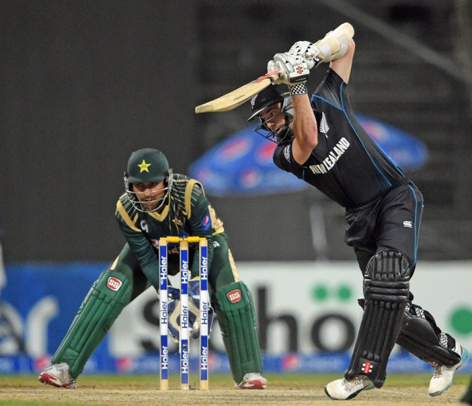 Williamson was New Zealand's top-scorer with 46 runs