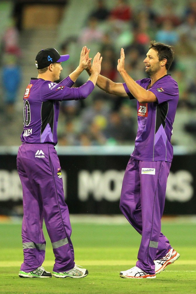 Hilfenhaus finished with figures of 4-27 off four overs