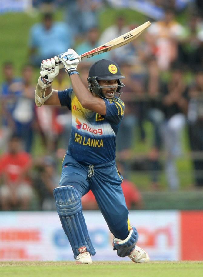 Sangakkara hit 10 boundaries during his knock of 91