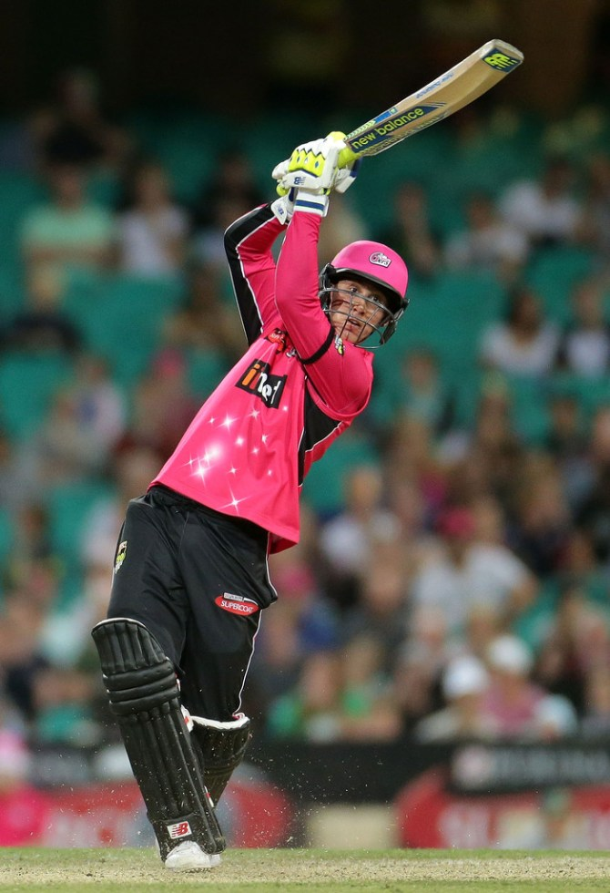 Maddinson hammered four boundaries and six sixes during his match-winning innings of 84