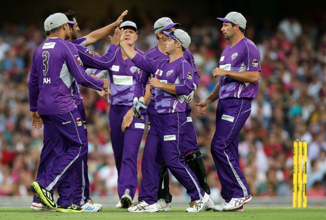 The dates of three Hobart Hurricanes matches have been changed