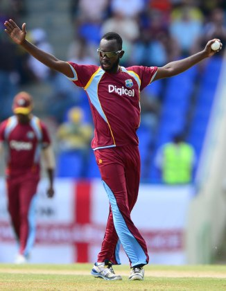 Miller's last ODI for the West Indies came against England in March 2014