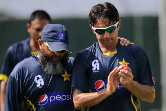 """We were used to Saeed Ajmal, he's our legend and has been our number one bowler"""
