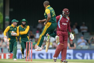 Philander was named Man of the Match for dismissing Smith, Gayle and Taylor