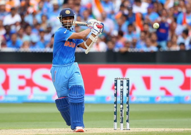 Rahane hit seven boundaries and three sixes during his knock of 79