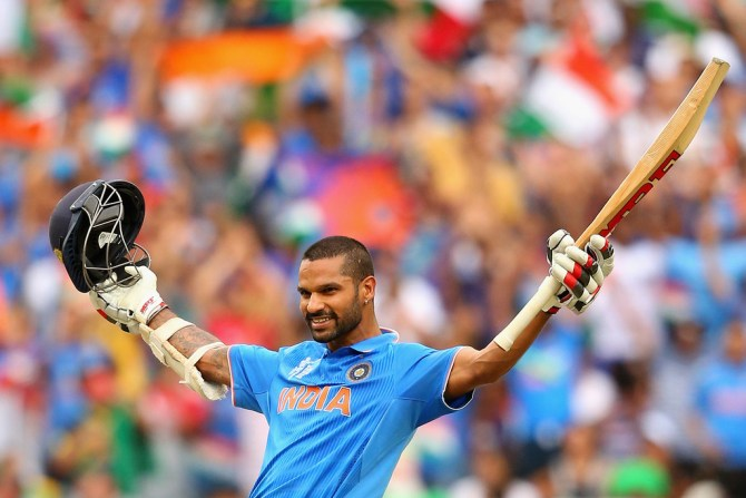 Dhawan was named Man of the Match for scoring a career-best 137