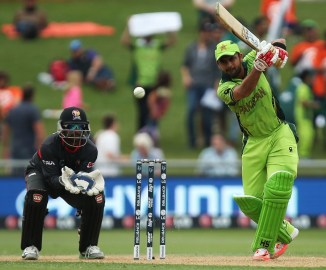 Shehzad hit eight boundaries and a six during his knock of 93