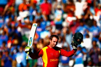 Taylor broke the record for the most centuries made a by a Zimbabwean in ODI history
