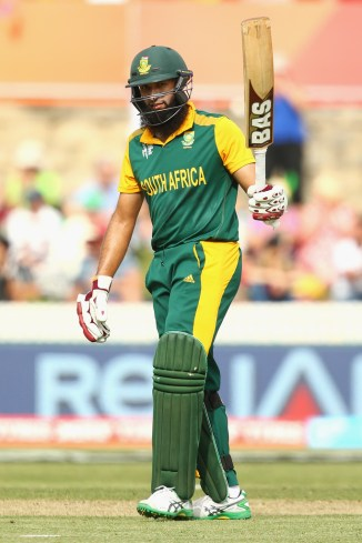 Amla was named Man of the Match for his career-best knock of 159