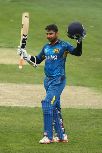 Sangakkara scored his fourth consecutive century