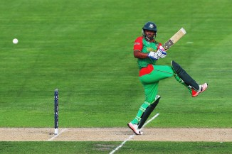 Iqbal hit nine boundaries and a six during his innings of 95