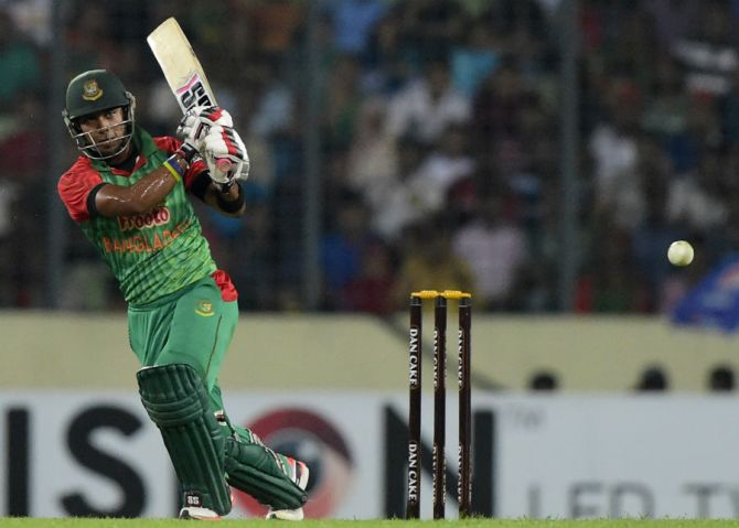 Rahman was named Man of the Match for his innings of 51