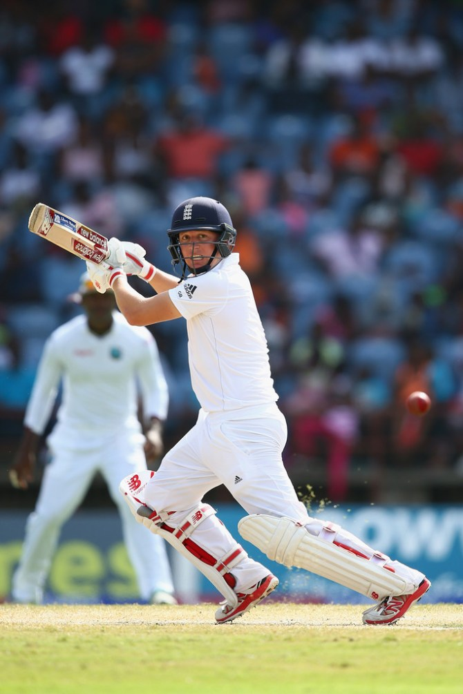 Ballance's brilliant form with the bat continued