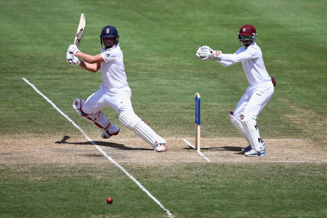 Ballance's good form with the bat continued