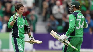 Joyce (left) and Murtagh (right) have both retired from Twenty20 cricket