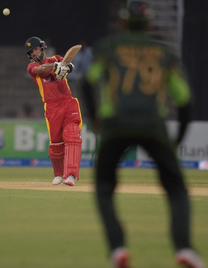 Raza's second ODI century went in vain