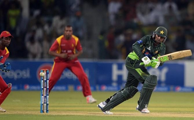 Sohail hit six boundaries during his unbeaten knock of 52
