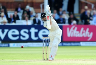 Williamson played some spectacular shots during his unbeaten innings of 92