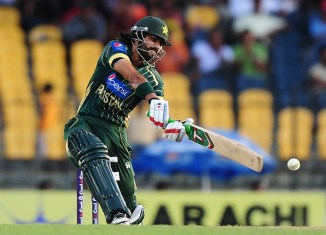 Alam has represented Pakistan in 38 ODIs and averages 40.25 with the bat