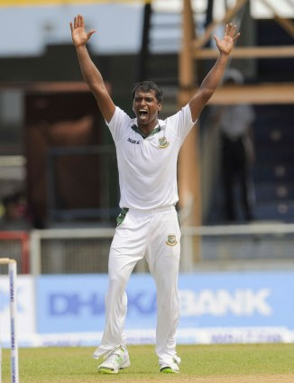 Hossain has fully recovered from his Grade 1 left side-strain