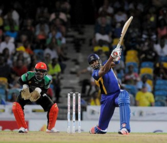 Pollard's gutsy knock of 82 was not enough to lead his side to victory