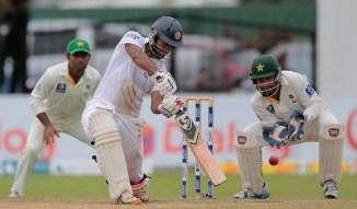 Karunaratne scored his sixth Test fifty