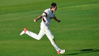 Overton has taken 20 wickets in 14 List A games