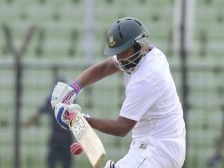 Iqbal is now Bangladesh's highest run-scorer in Test history