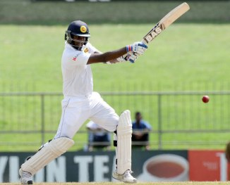 Mathews hit six boundaries and a six during his unbeaten knock of 77